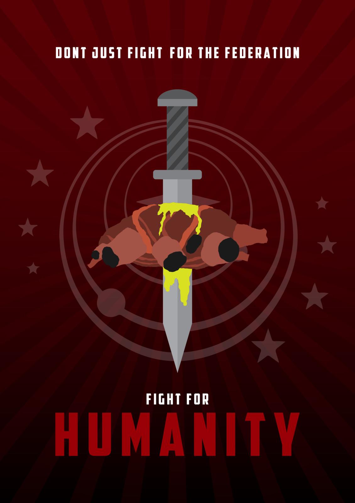 Elite Dangerous - Anti-Xeno Federal Poster