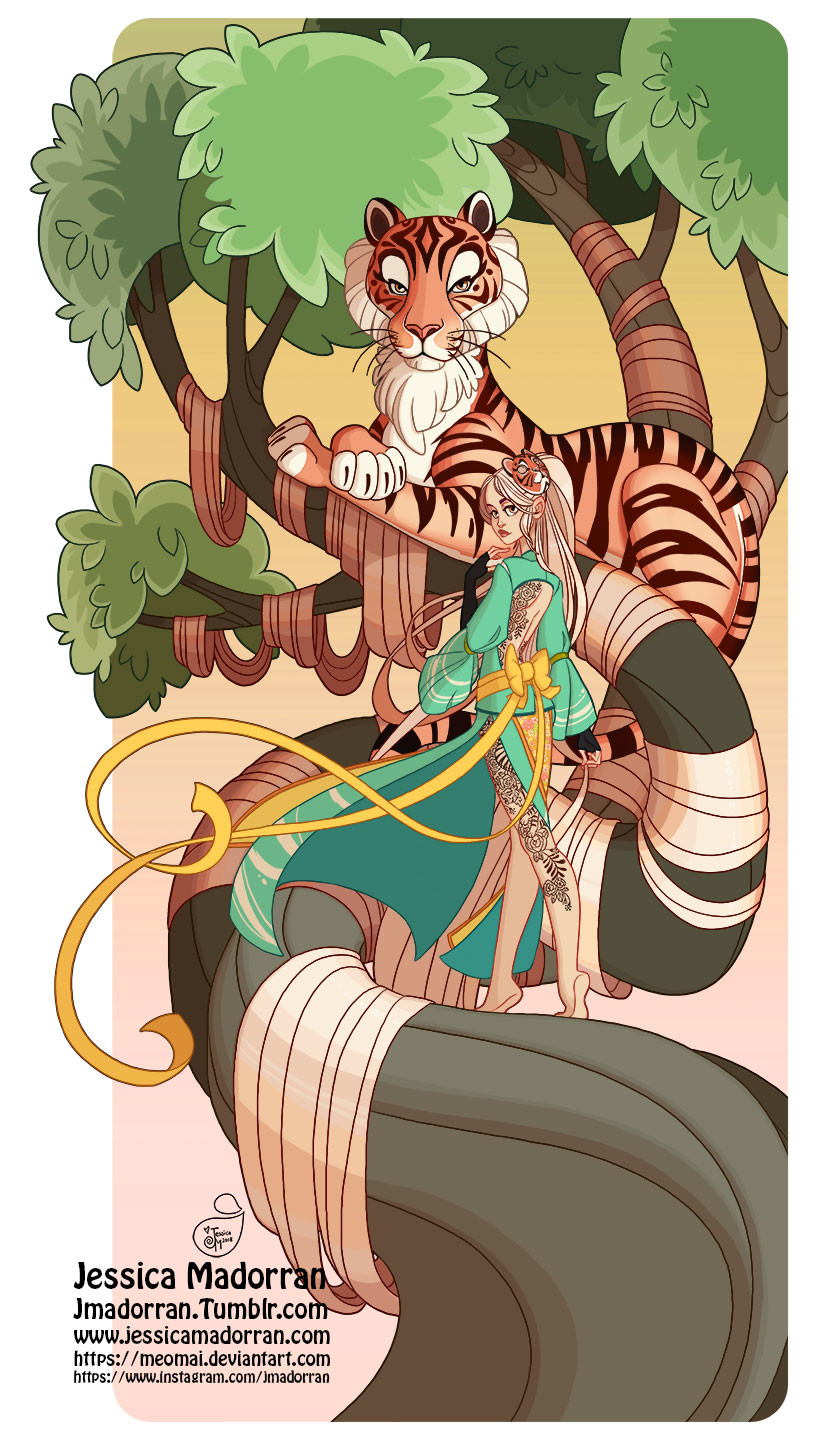 Tree Lady - Year of the Tiger