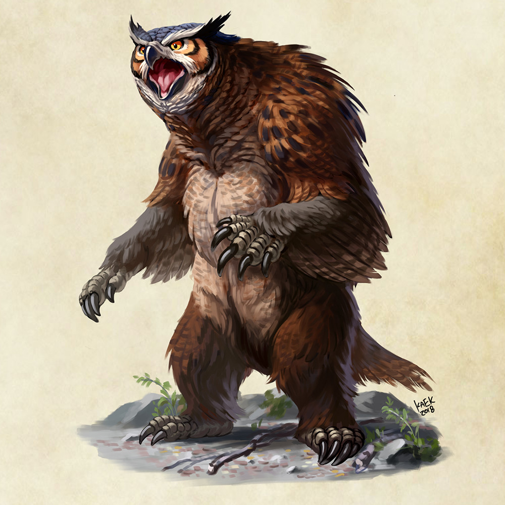 Image result for owlbear