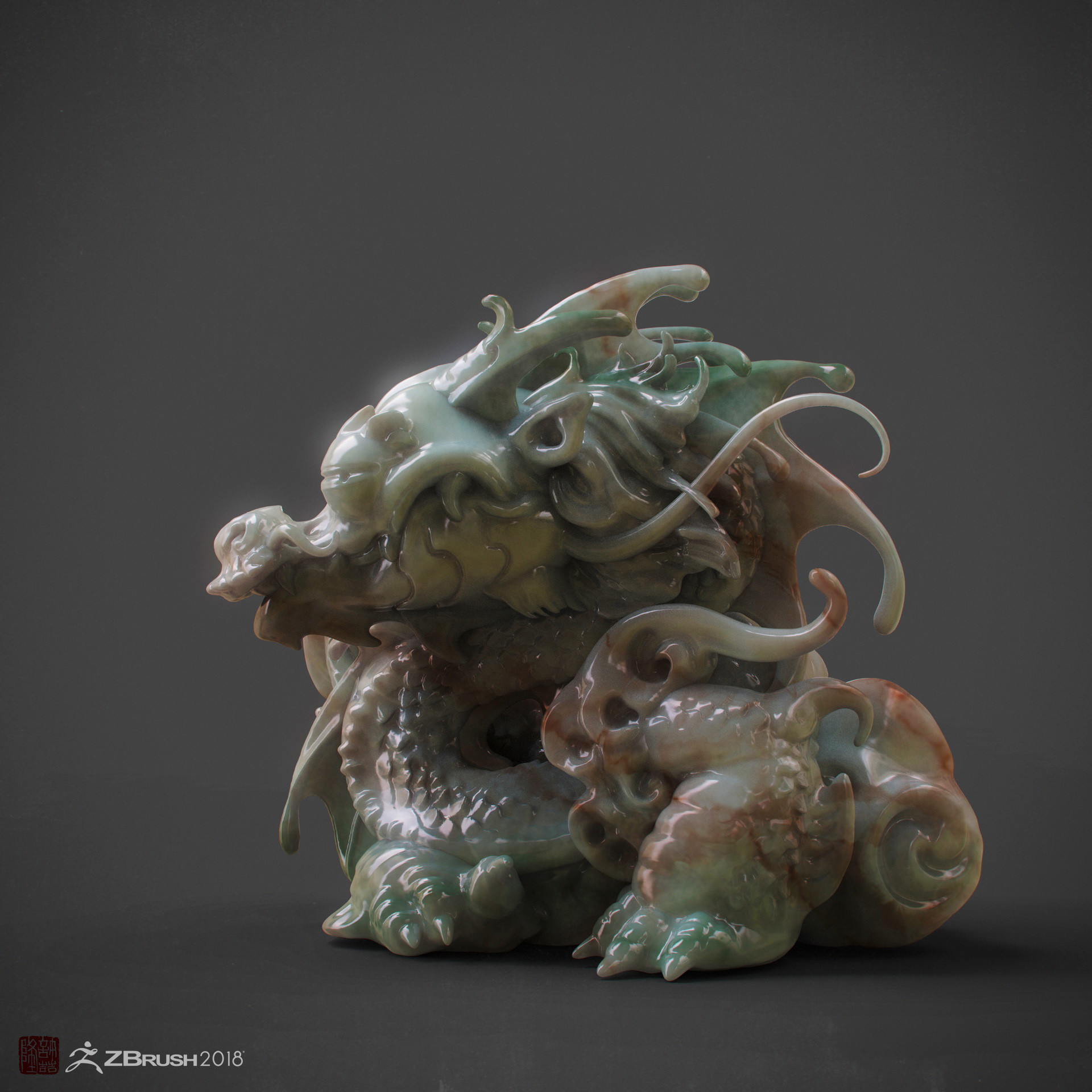 Zhelong xu the babydragon02