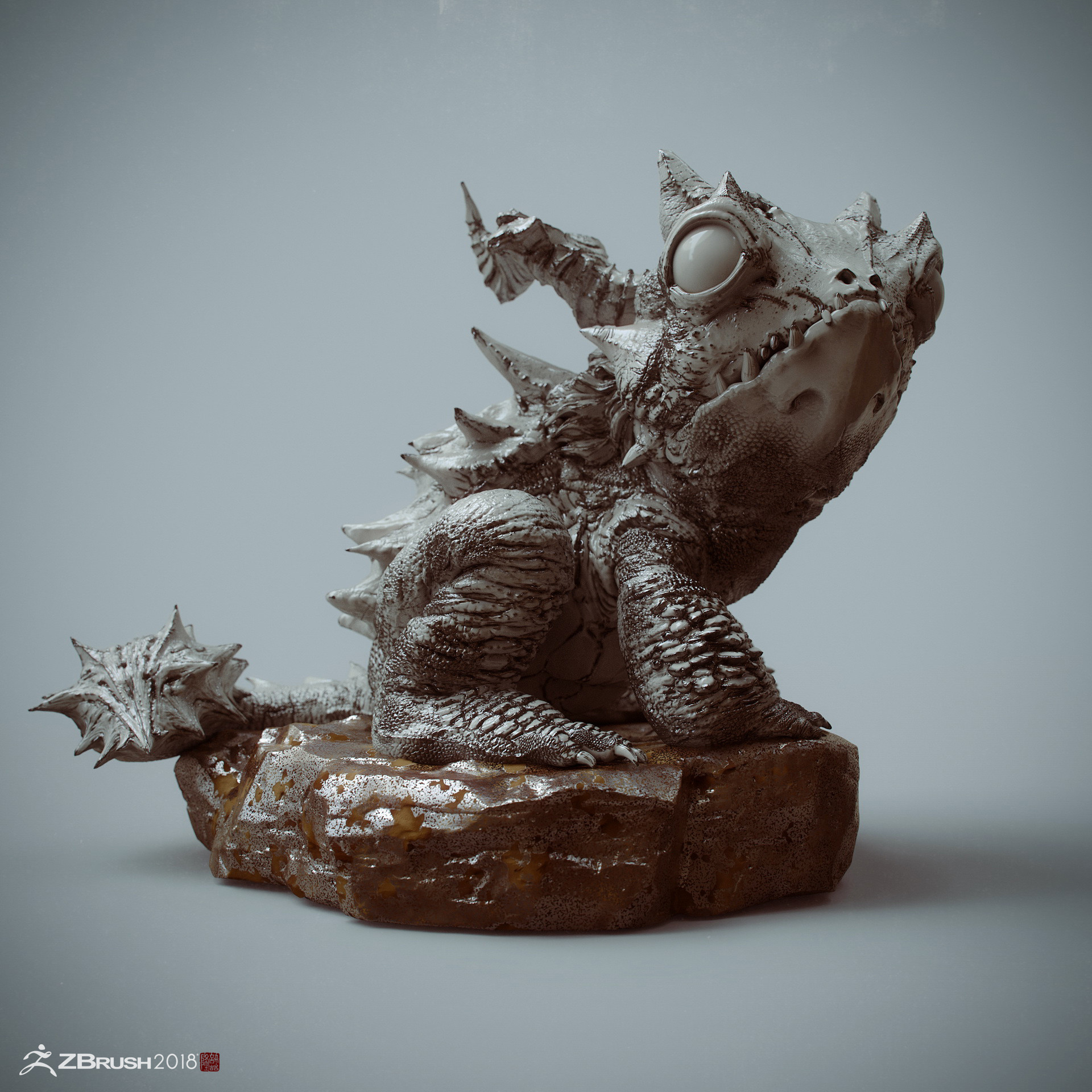 Zhelong xu the kirin frog002