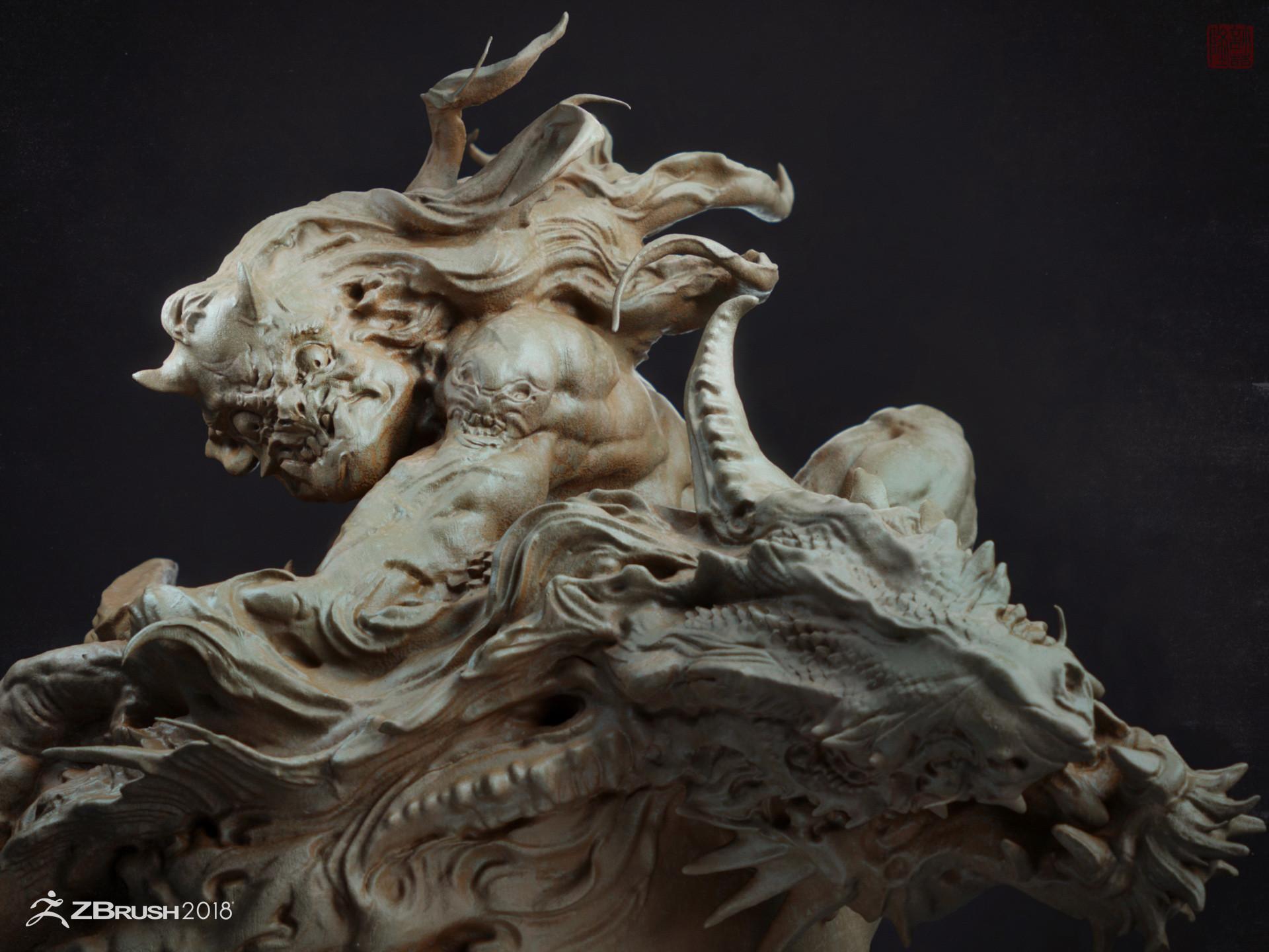 Zhelong xu ye cha fight to the dragon002