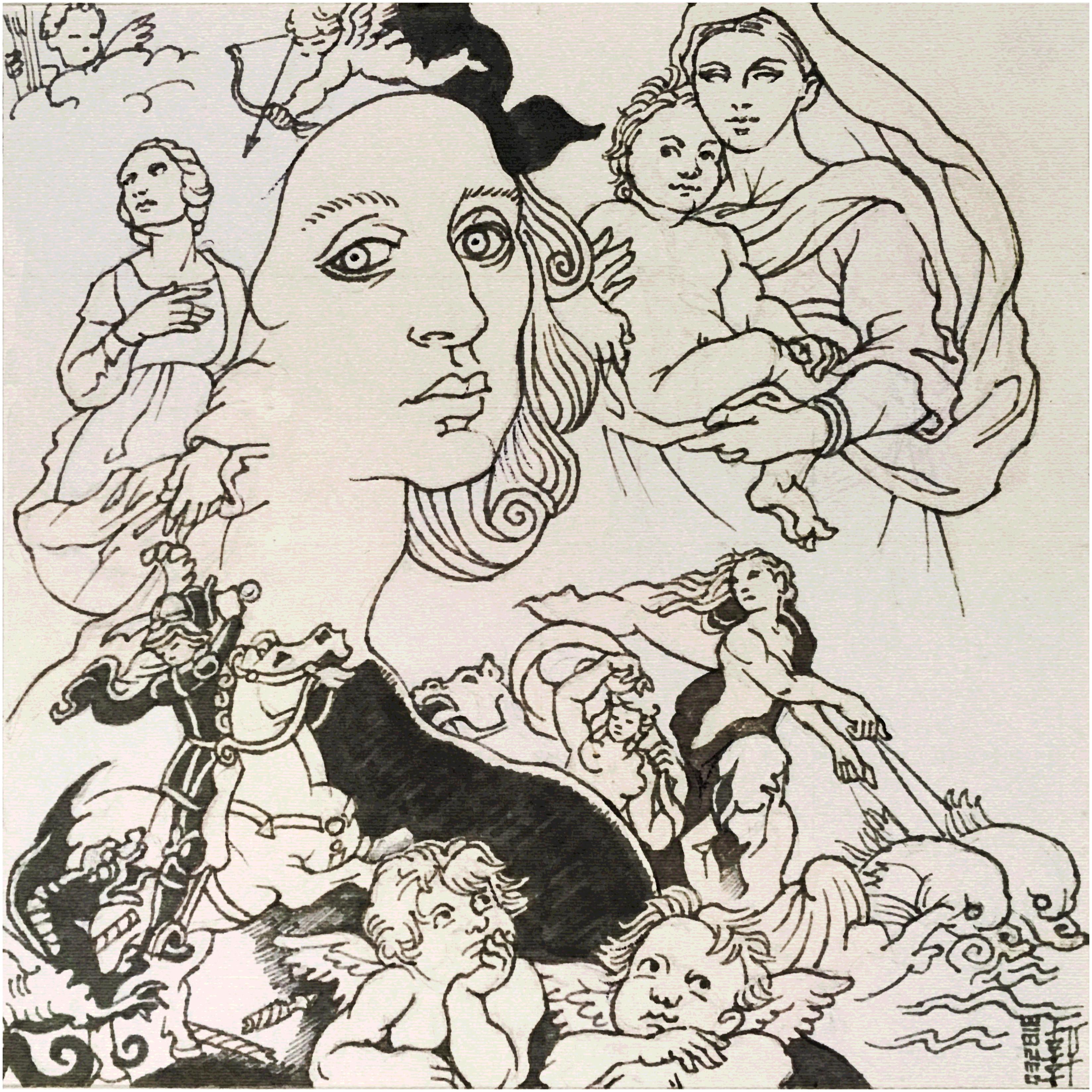 Day 03-28-18 - Raphael Sketch