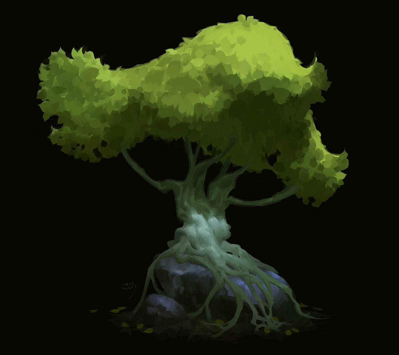 Iris muddy rocktree