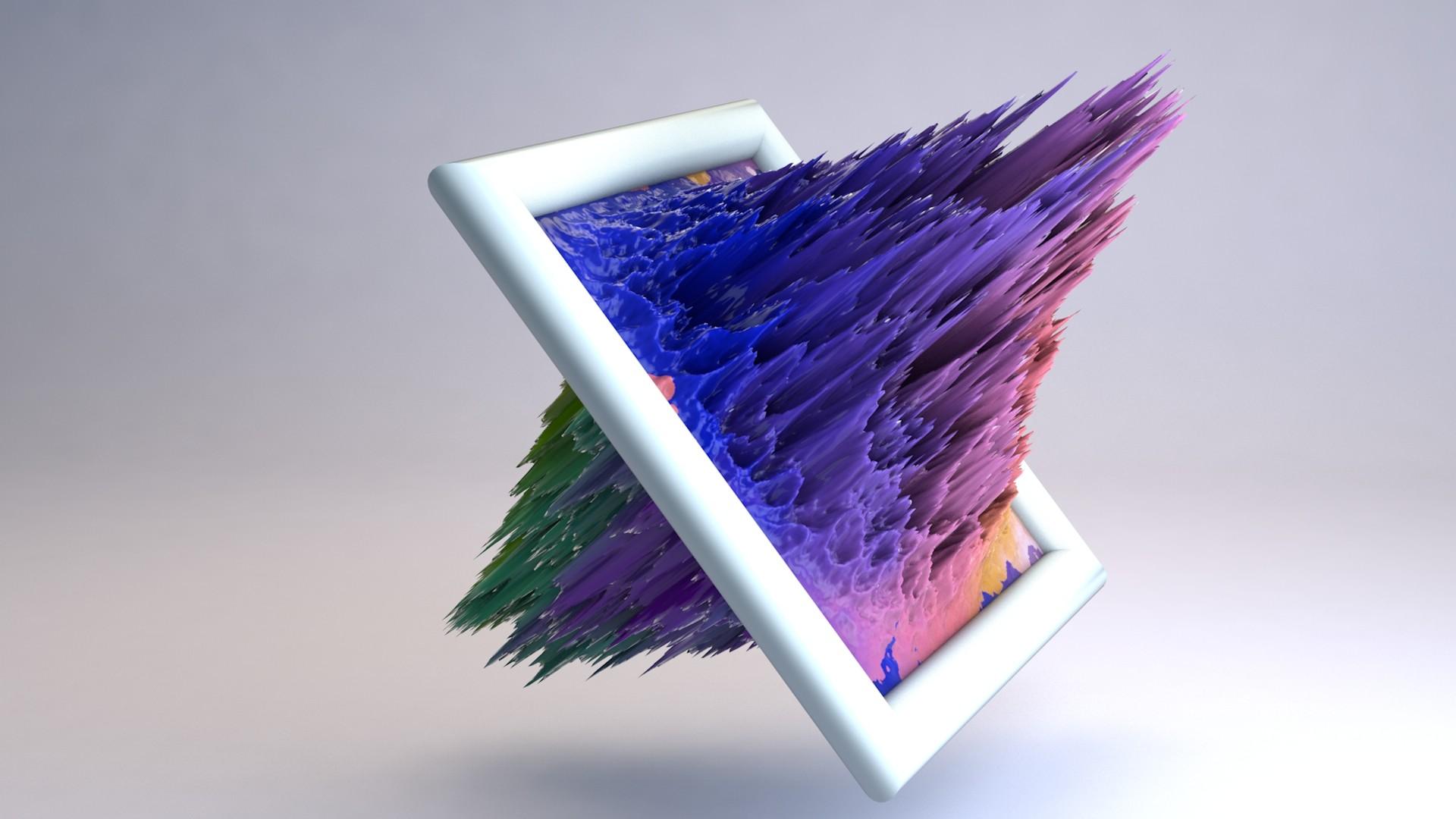 ArtStation - Abstract Art C4D, Sourav Singh Rawat