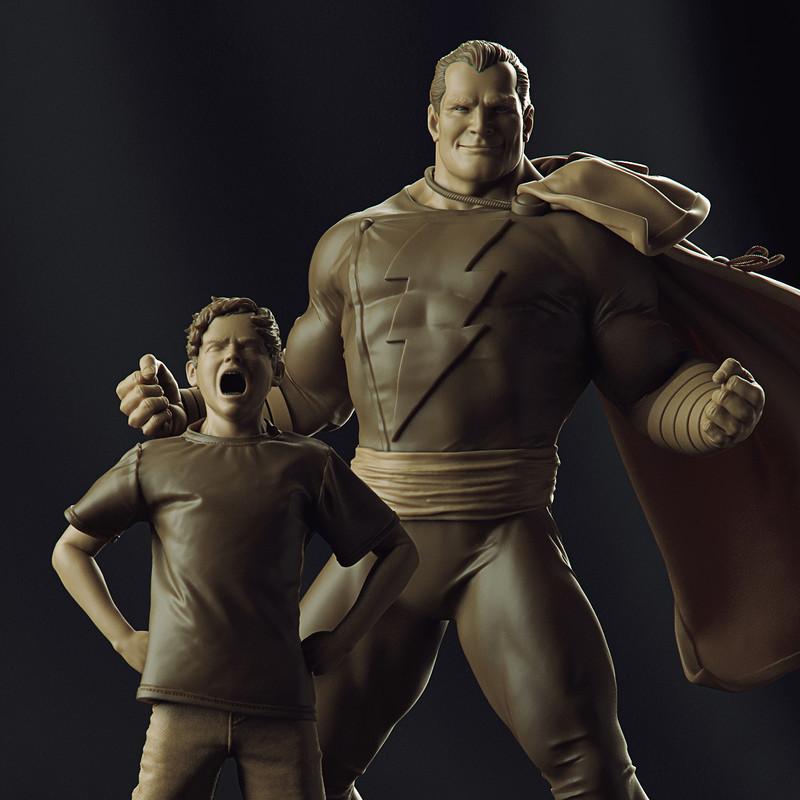 Shazam - Art Scale 1/10 - Iron Studios