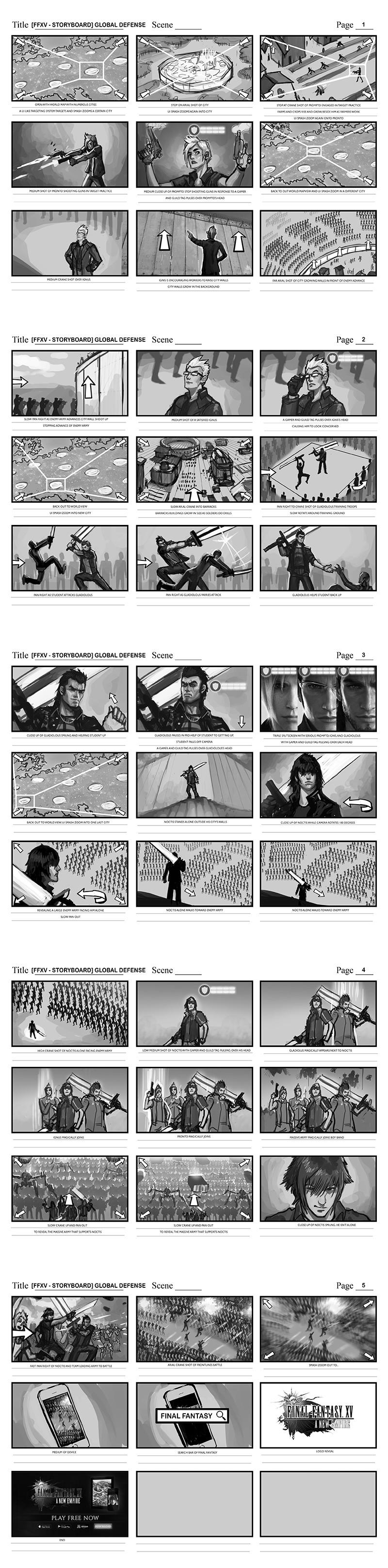 Efrem palacios ffxv storyboard global defense