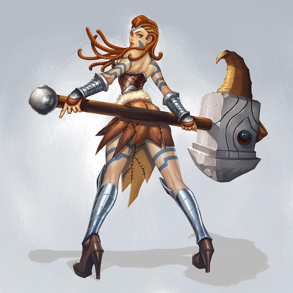 Efrem palacios huntress gow