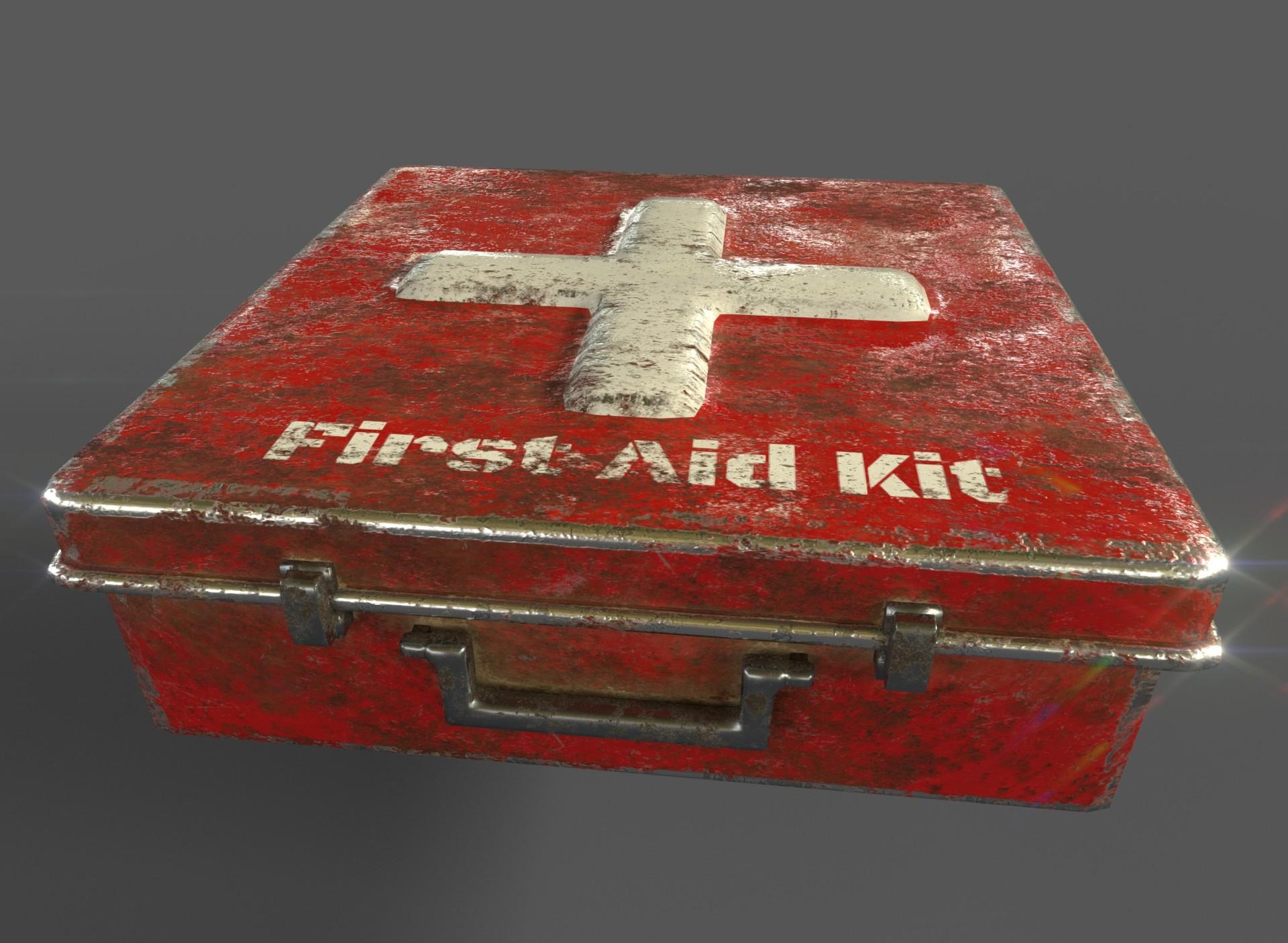 kayla cobb old first aid kit