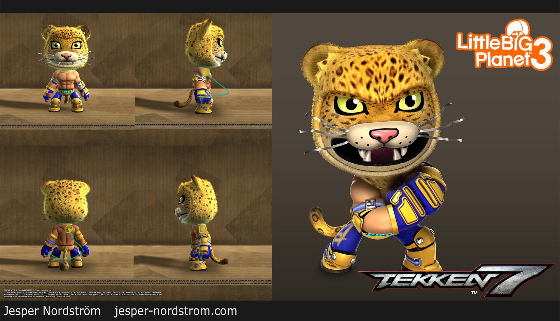 Artstation King Tekken 7 Dlc Costume Jesper Nordstrom