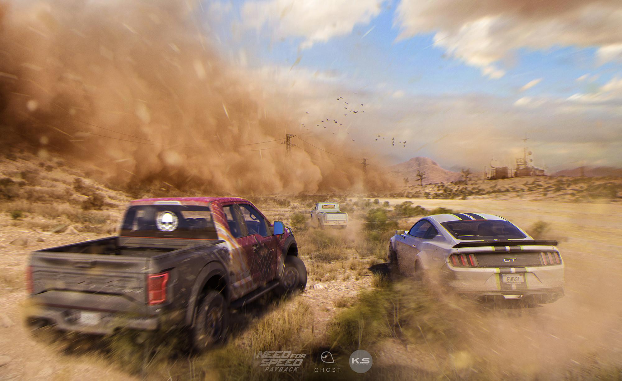 Dust Storm Concept
