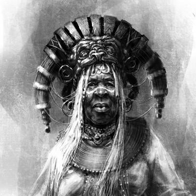 Tomek larek shaman procretat sketch tomek larek