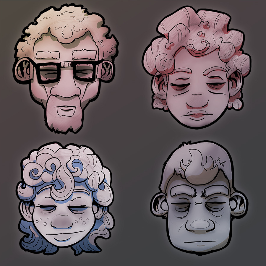 Rick destree faces