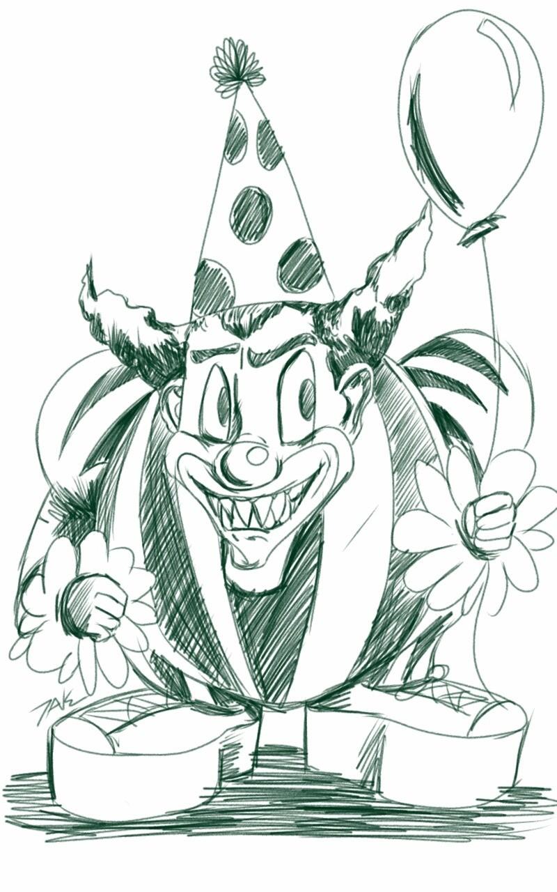 snls birthday clown sketch - HD800×1280
