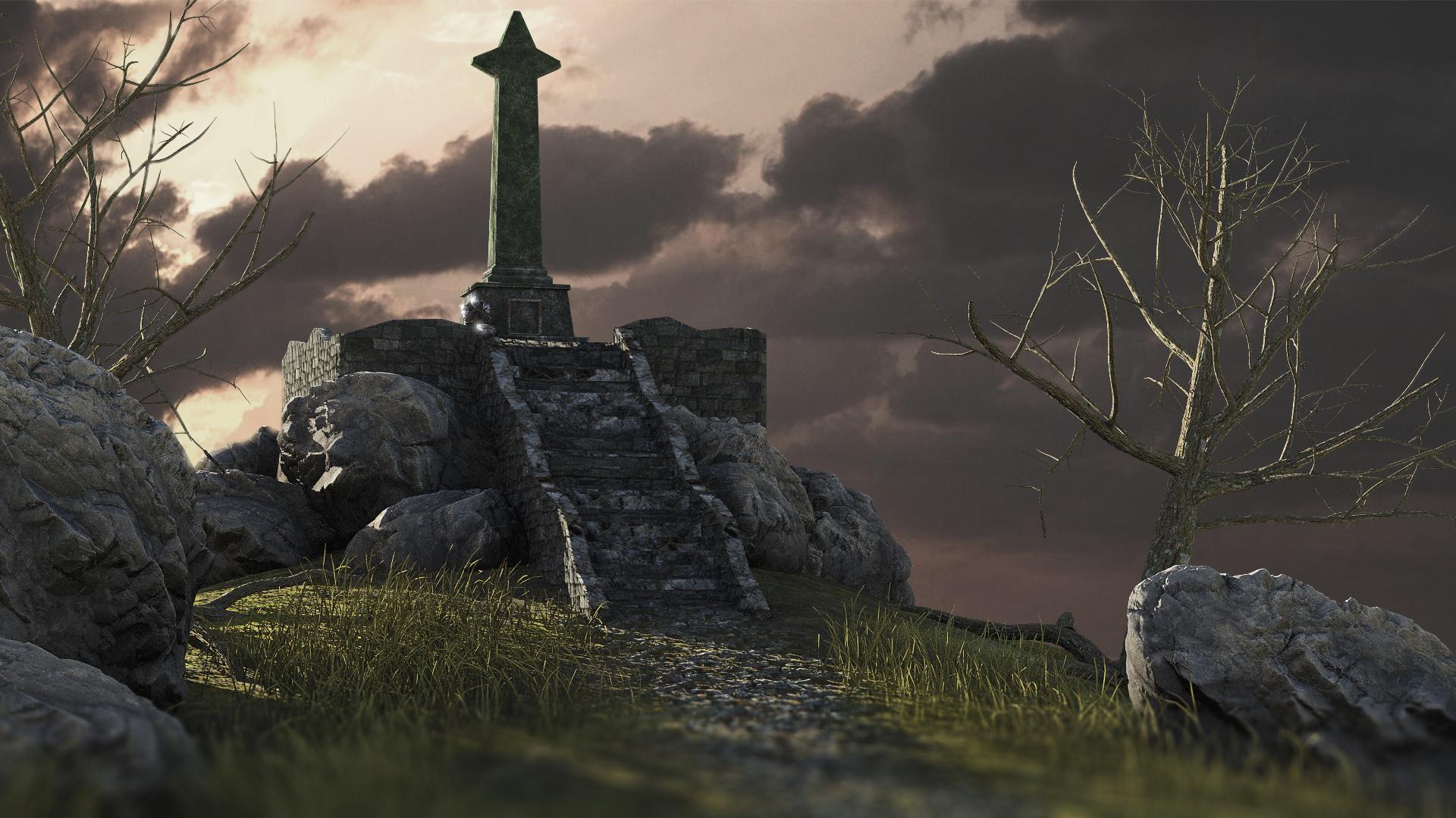Artstation Dark Souls A Quick Recreation Of Majula Sebastian Tomas Siggerud