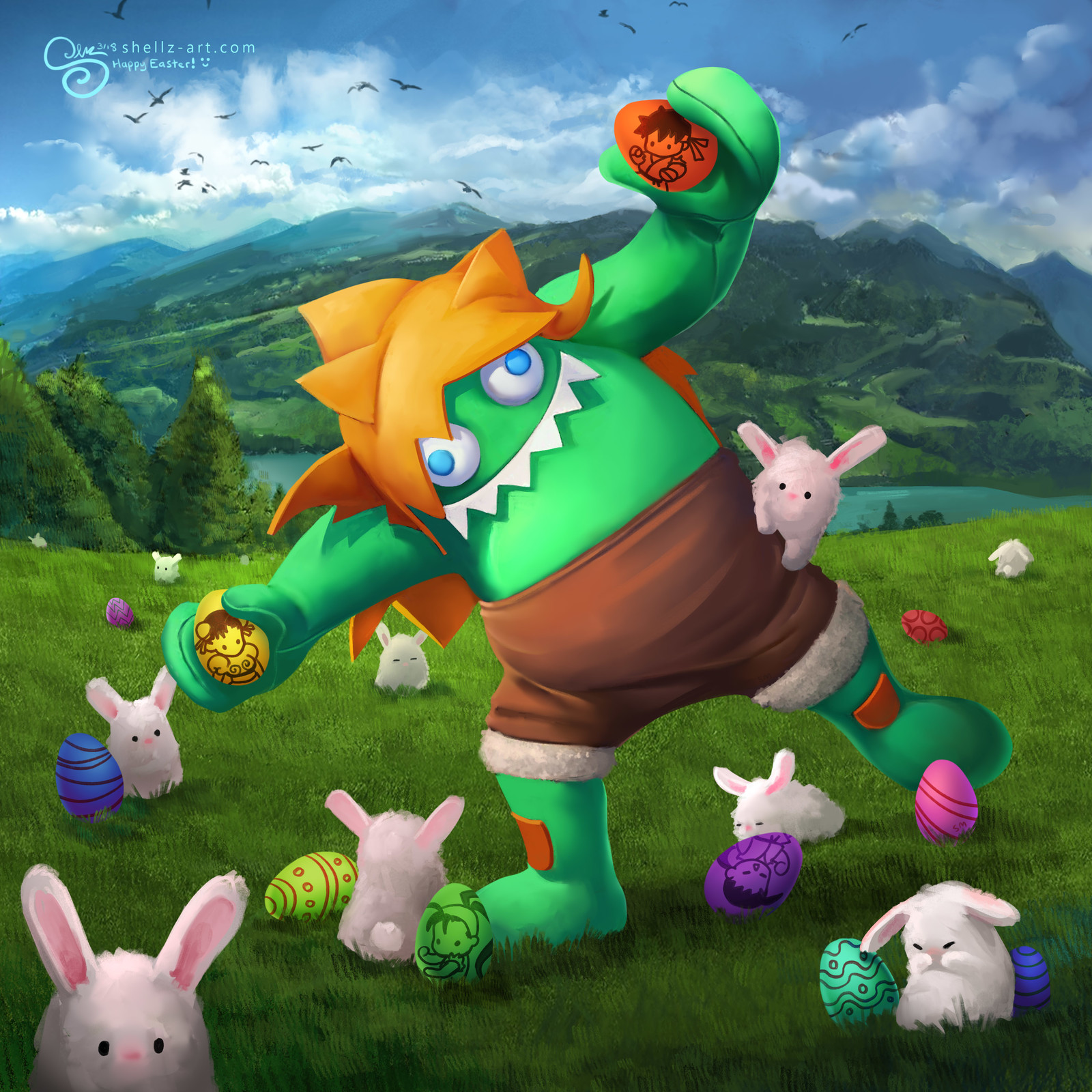 Blanka-Chan's Easter