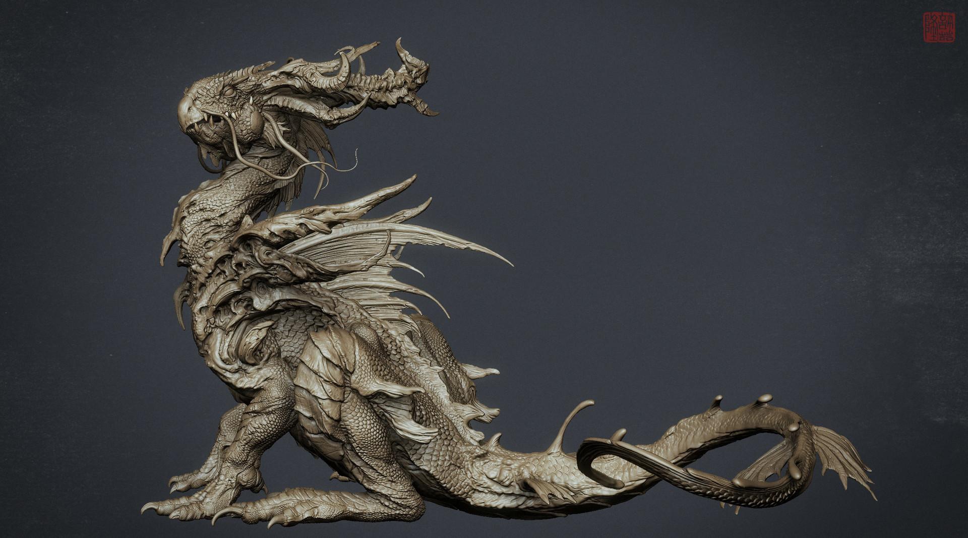Zhelong xu wip zhelong xu the beta dragon screenshot04
