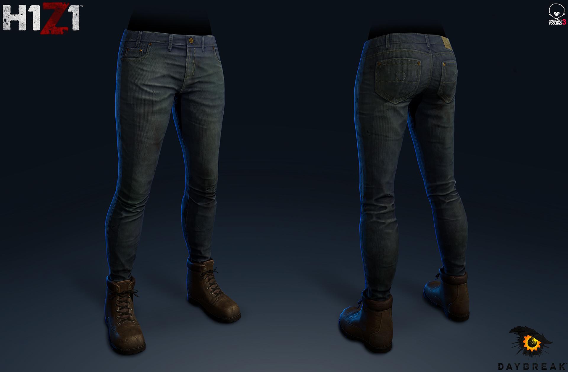 Satoshi arakawa female jeans