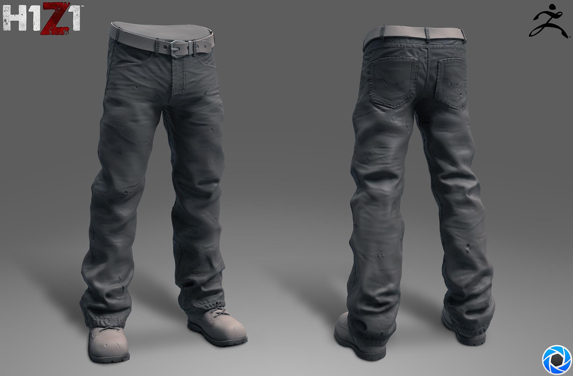 Satoshi arakawa baggy jeans sculpt