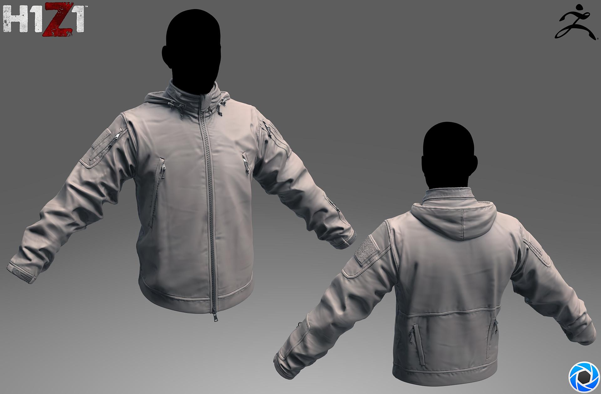 Satoshi arakawa tac jacket sculpt