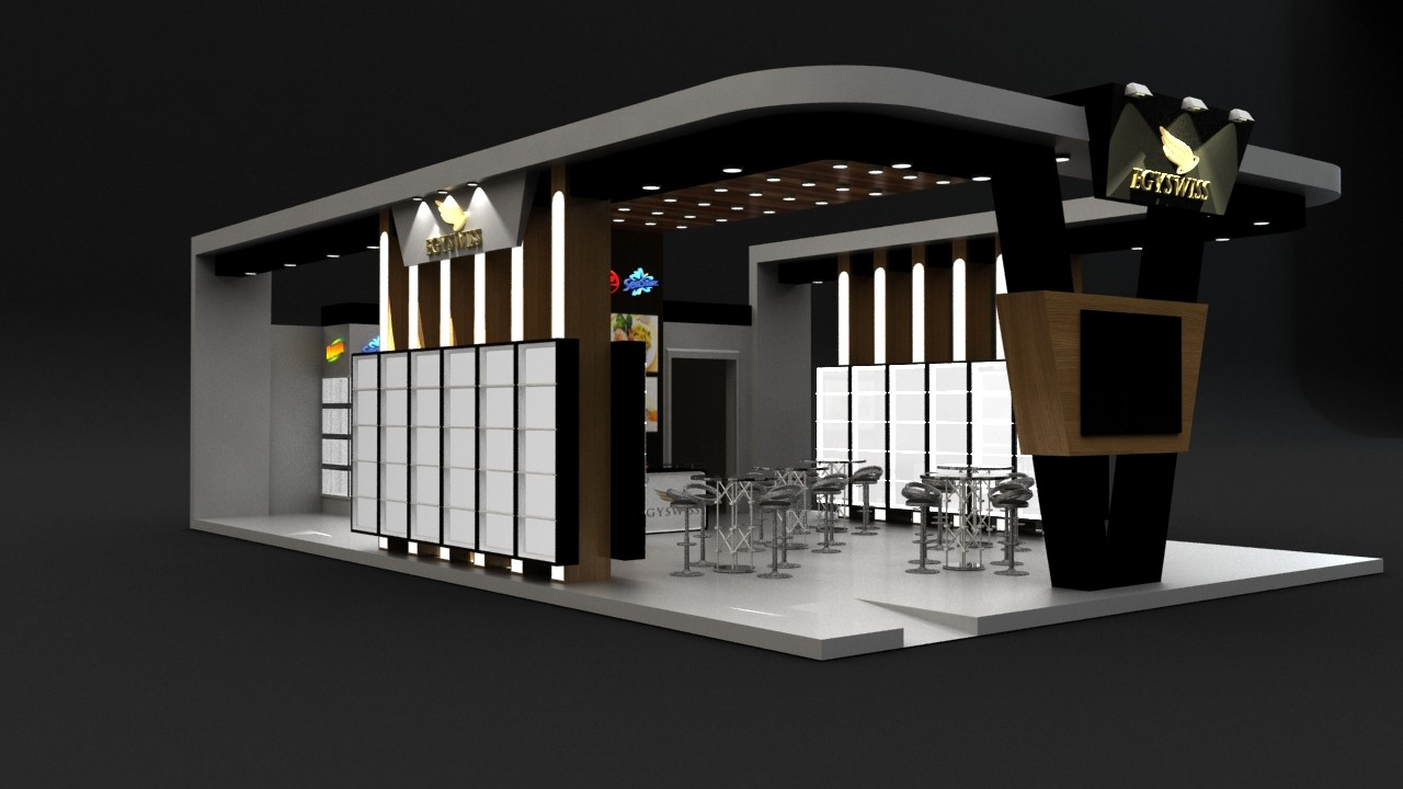 Mostafa Saad - Food exhibition booth design