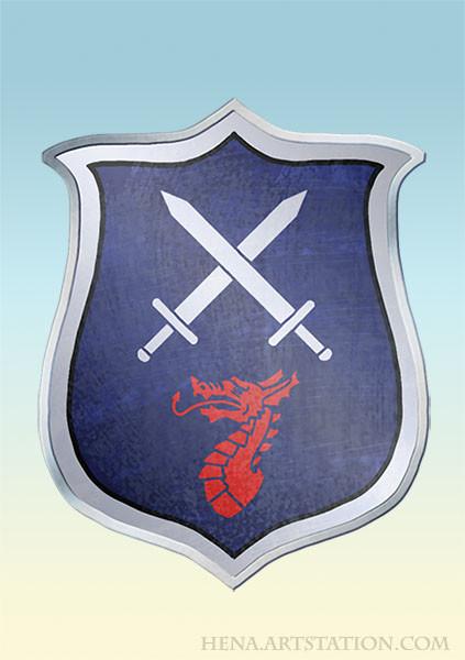 DSA: Coat of Arms - Ruadas Ehr