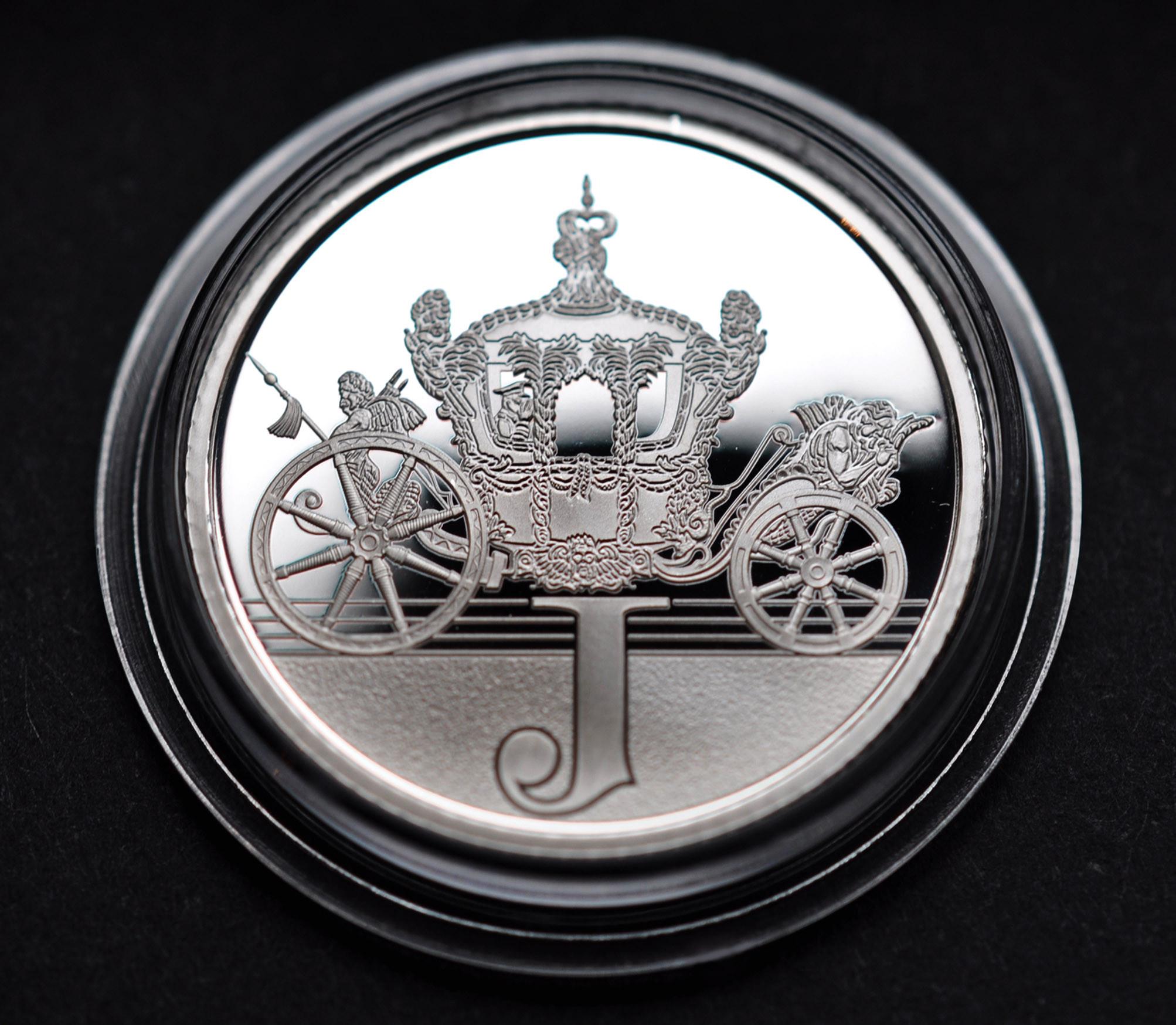 Silver proof J
