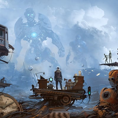 Alejandro burdisio epifania sci fi artstation