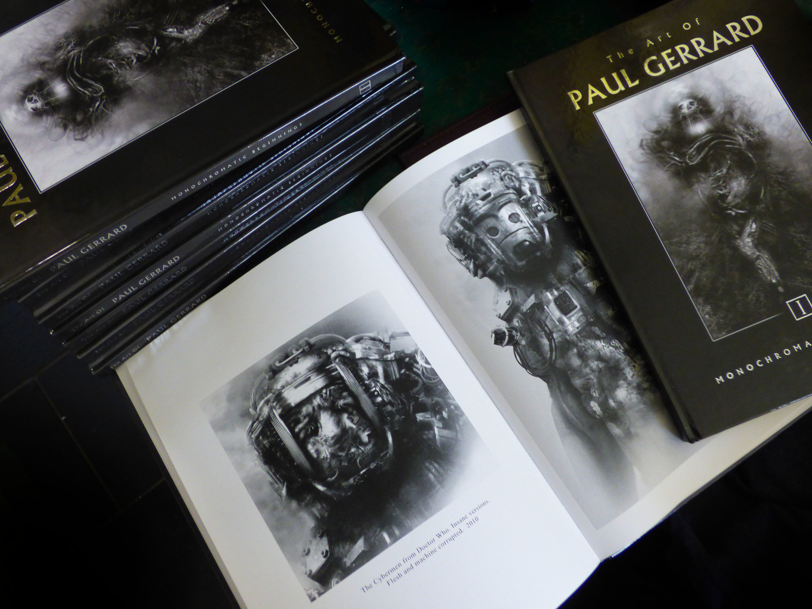 Art of PAUL GERRARD Vol 1 ON SALE NOW