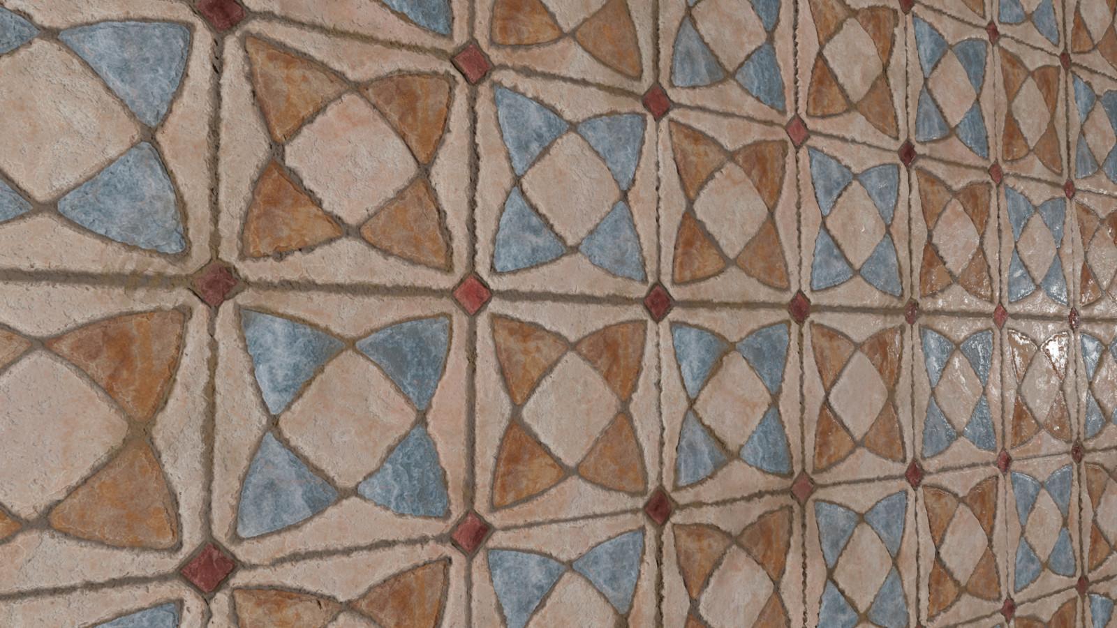 Medieval tiles - 3