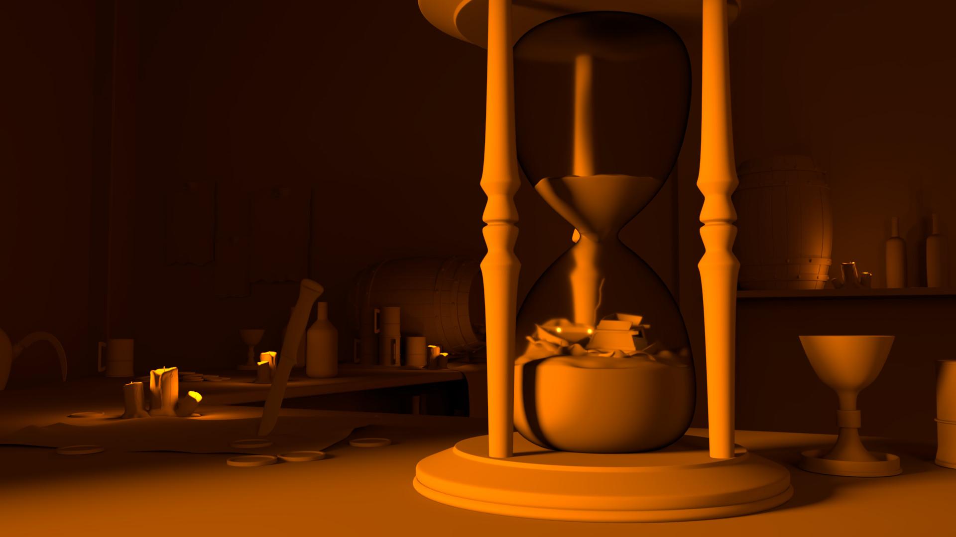 Pietro bernardi hourglass clayrender filtered