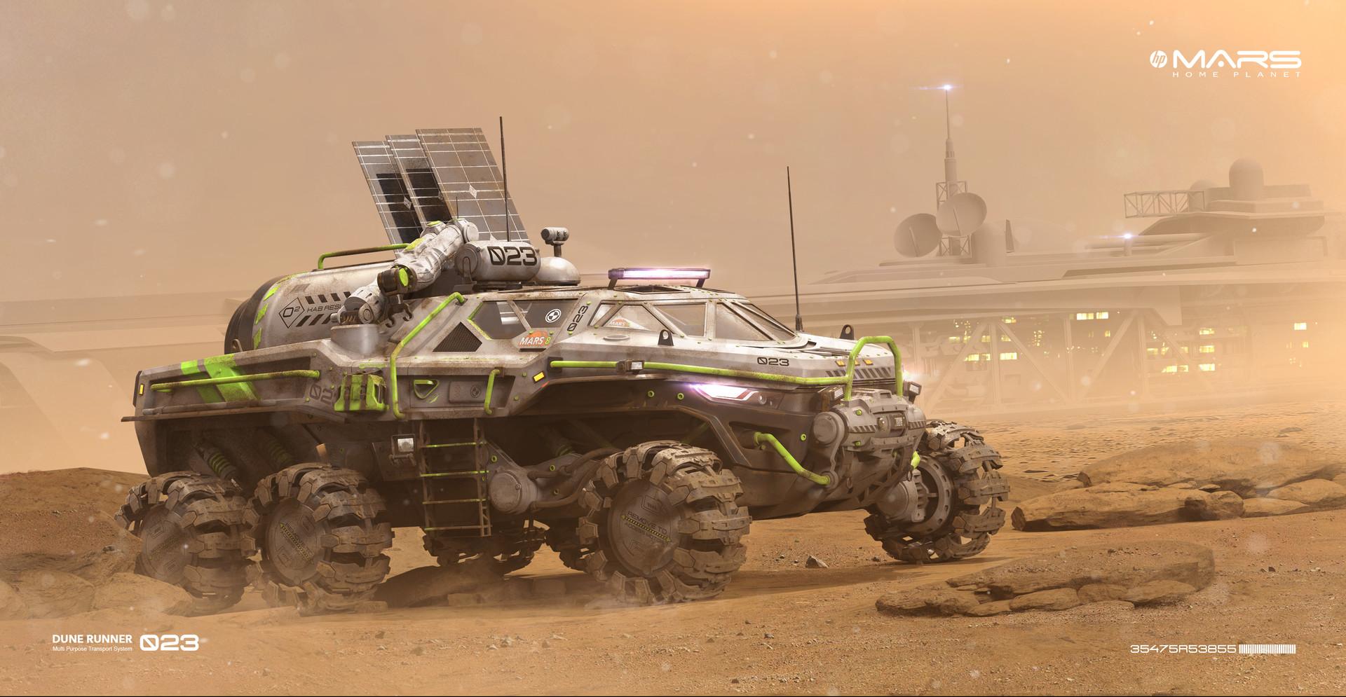 Igor sobolevsky mars 8 rover comp