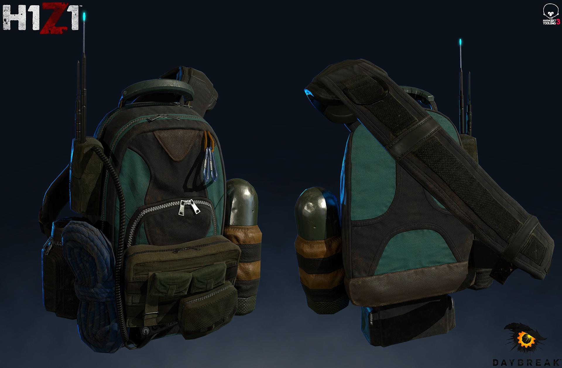 Satoshi arakawa backpack marmoset