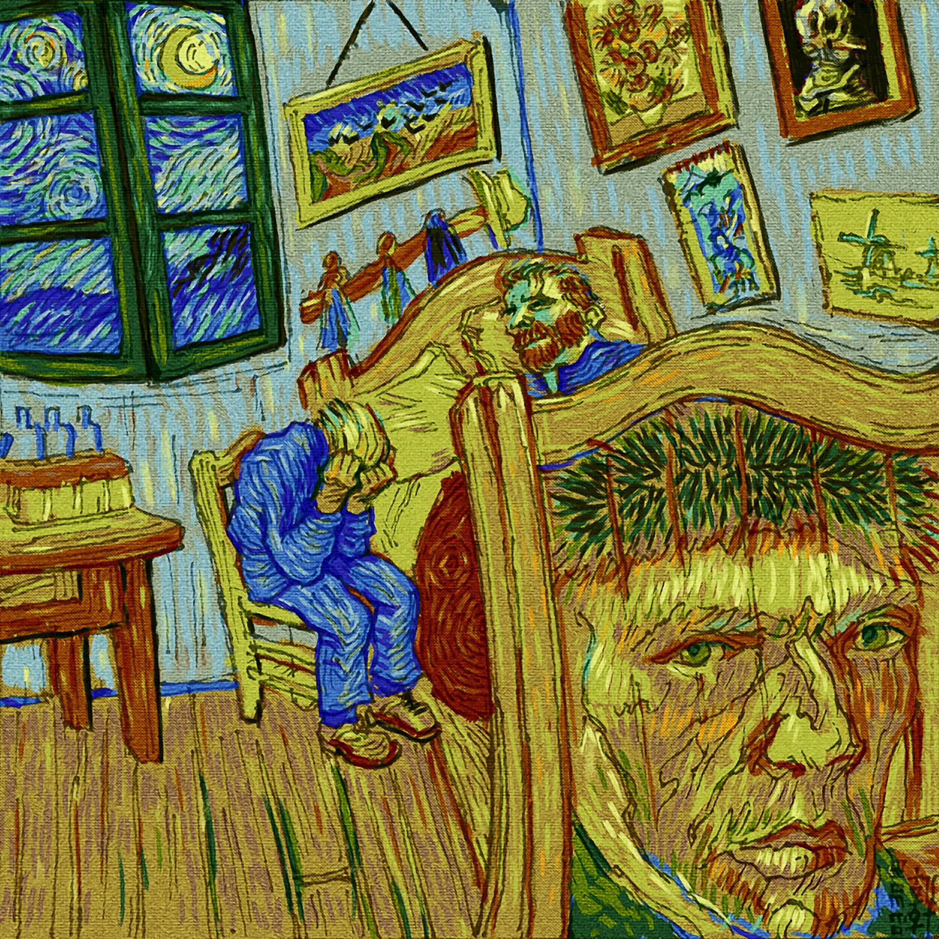 Day 03-30-18 - Van Gogh