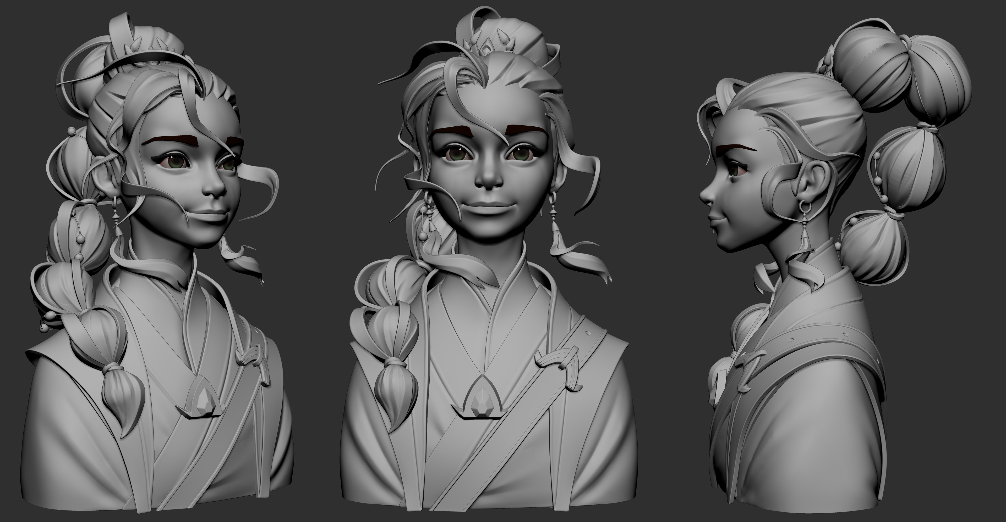 Screengrab from Zbrush using Undoz matcap