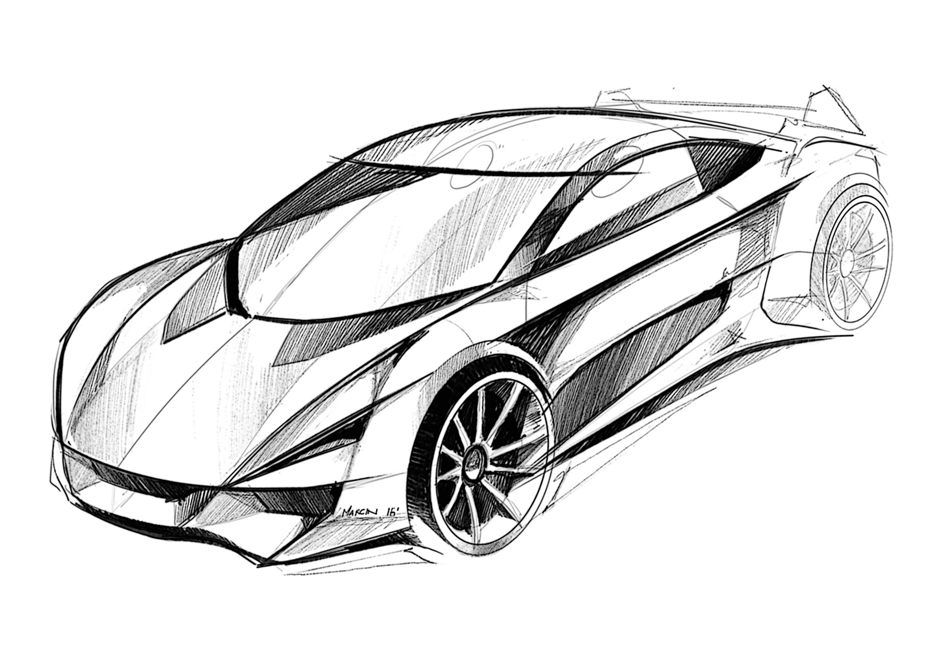 Artstation car sketches car design pro