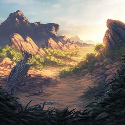 Eben schumacher desert dragon no border