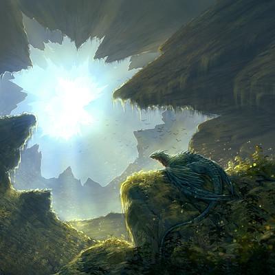 Eben schumacher cave dragon no border