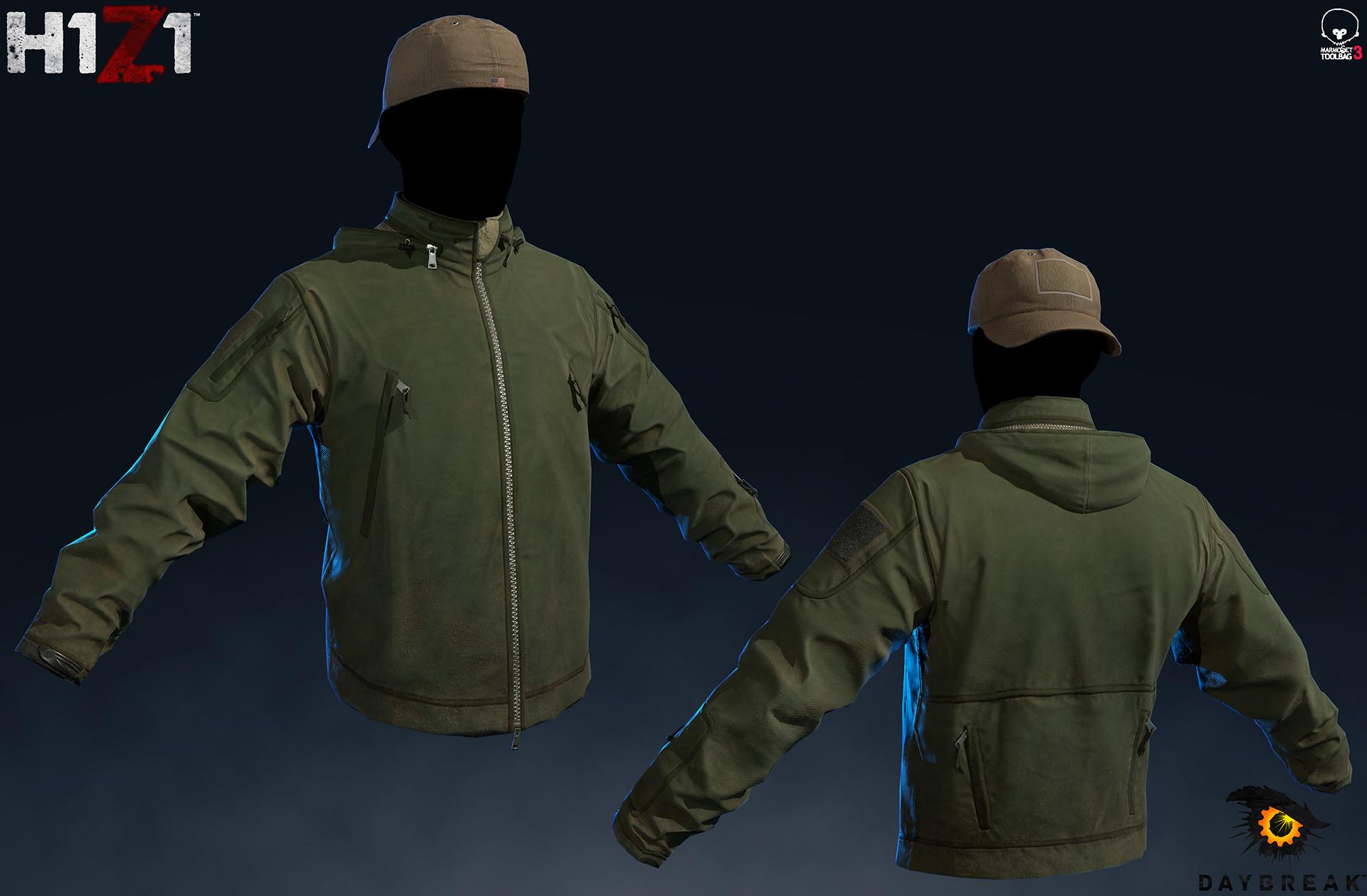 Satoshi arakawa tac jacket marmoset