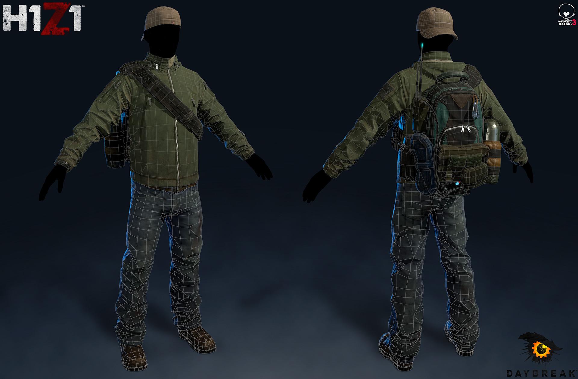 Satoshi arakawa tac jacket outfit marmoset wires