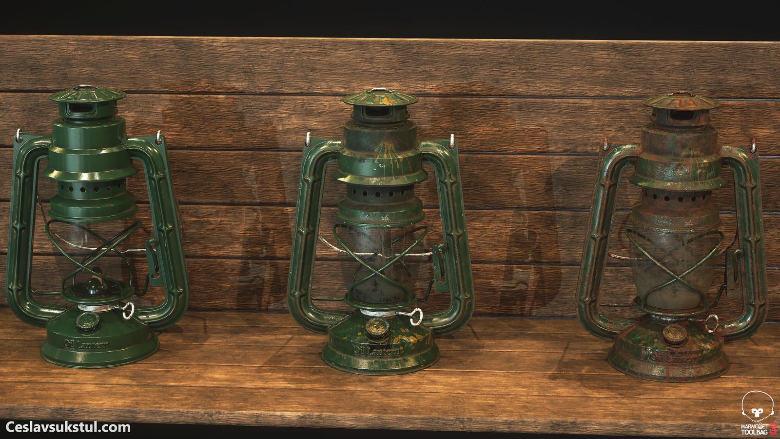 Oil Lantern ( 3 variations )