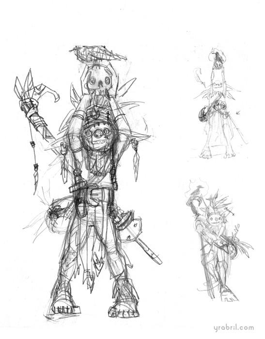 Yara abril sketch goblin