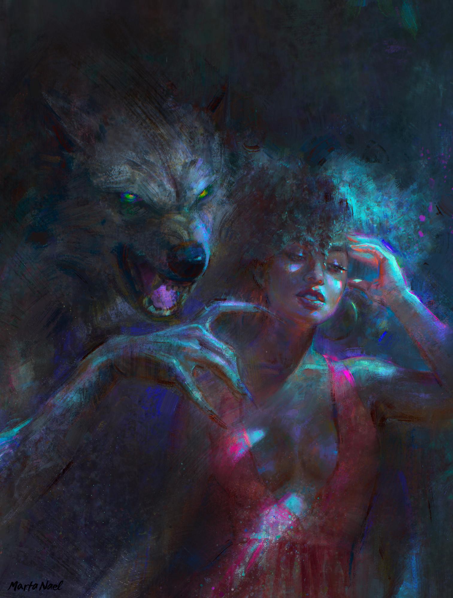 Marta nael night creatures color 2