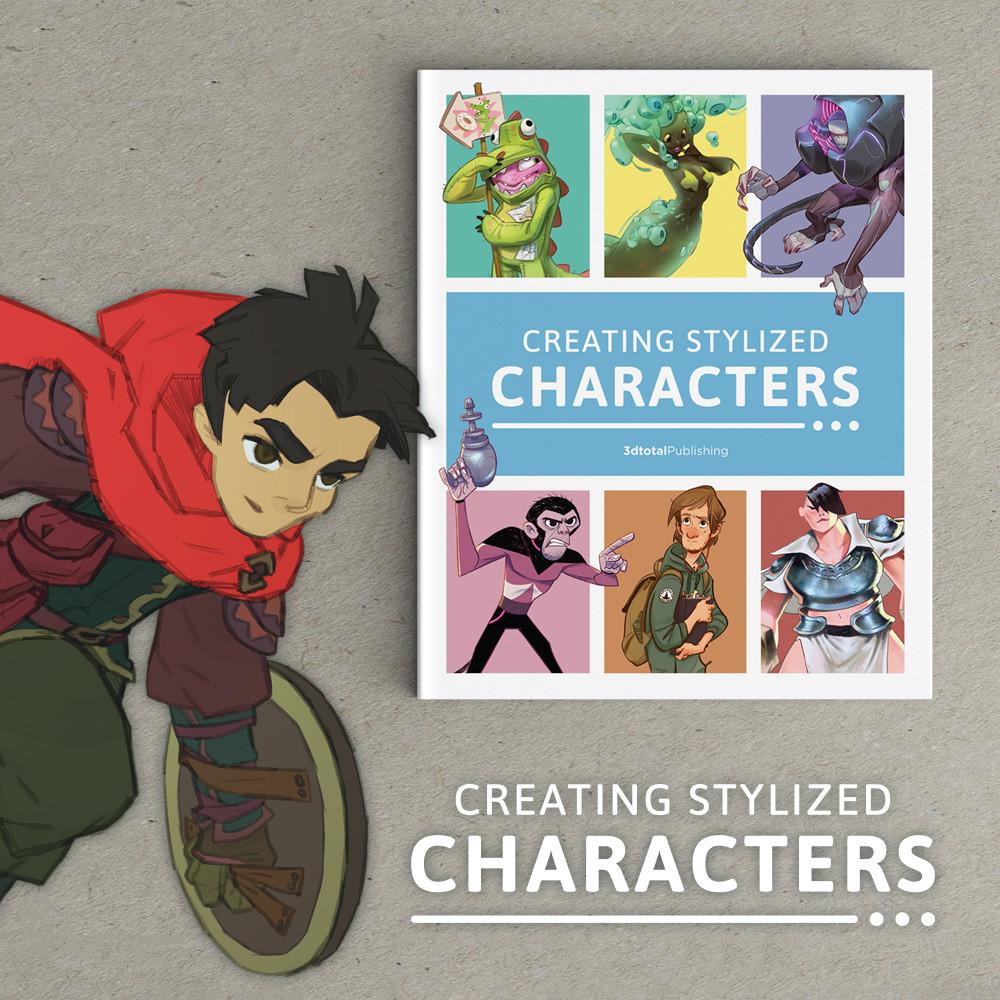 Iris muddy stylized characters artist graphic18
