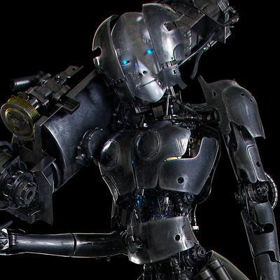 Ying te lien girl robot2