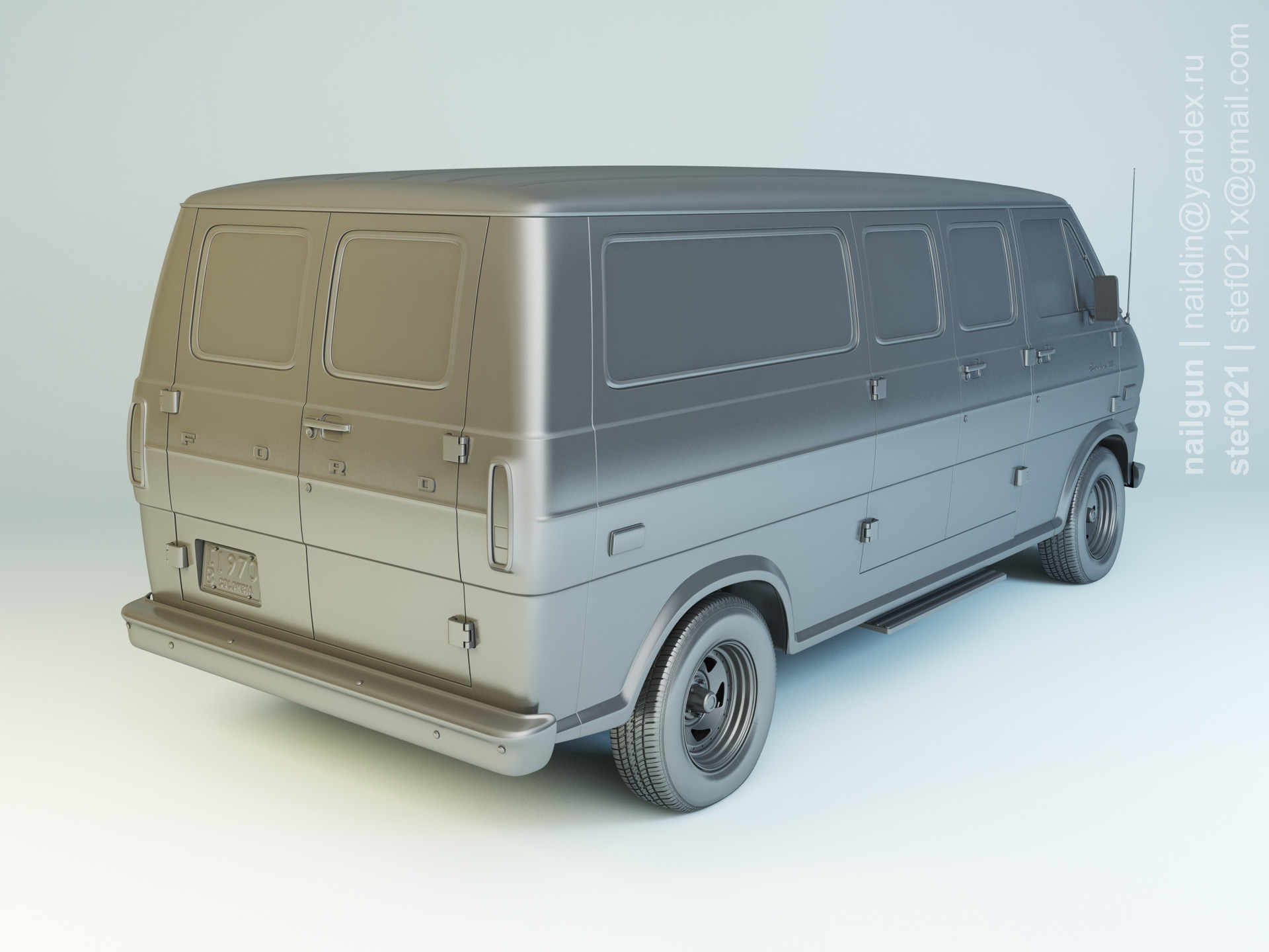 Nail khusnutdinov pwc 069 000 ford econoline modelling 1