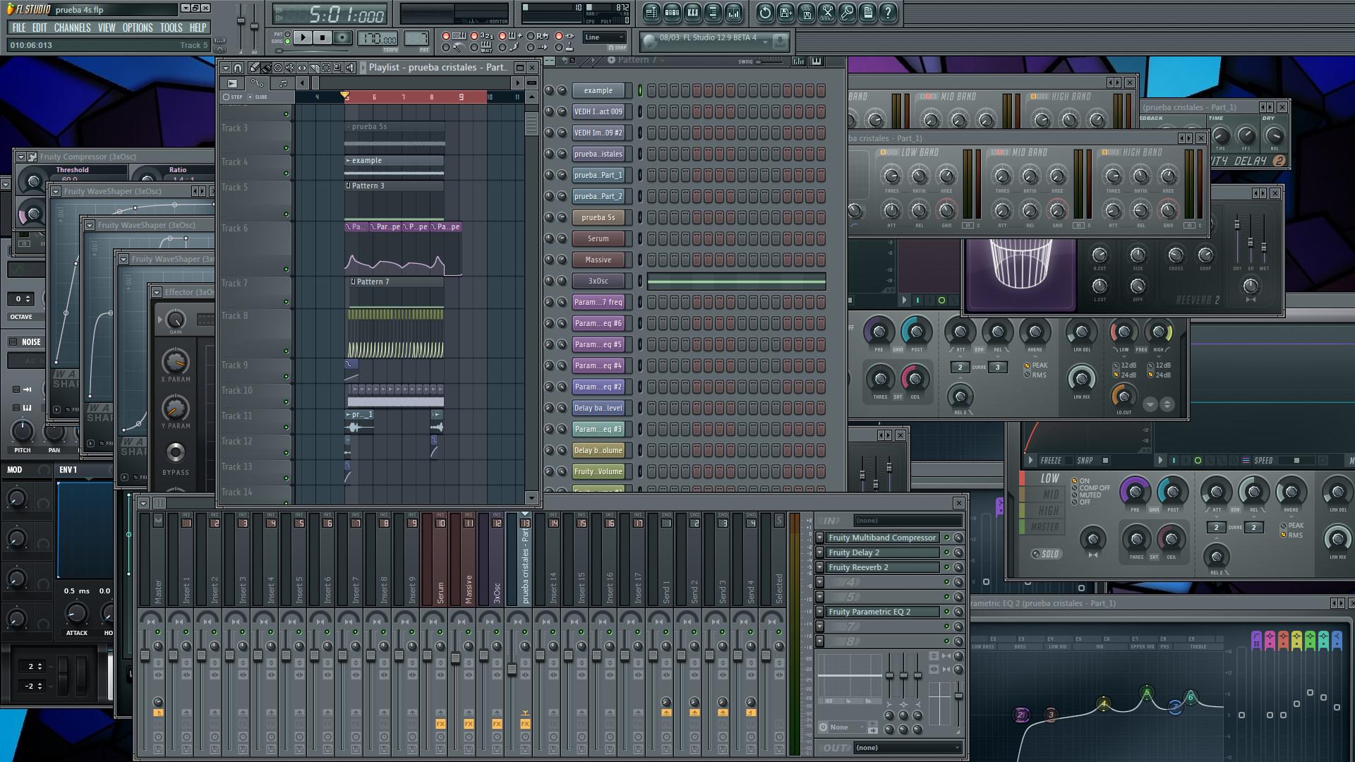 Sound Design project file screenshot