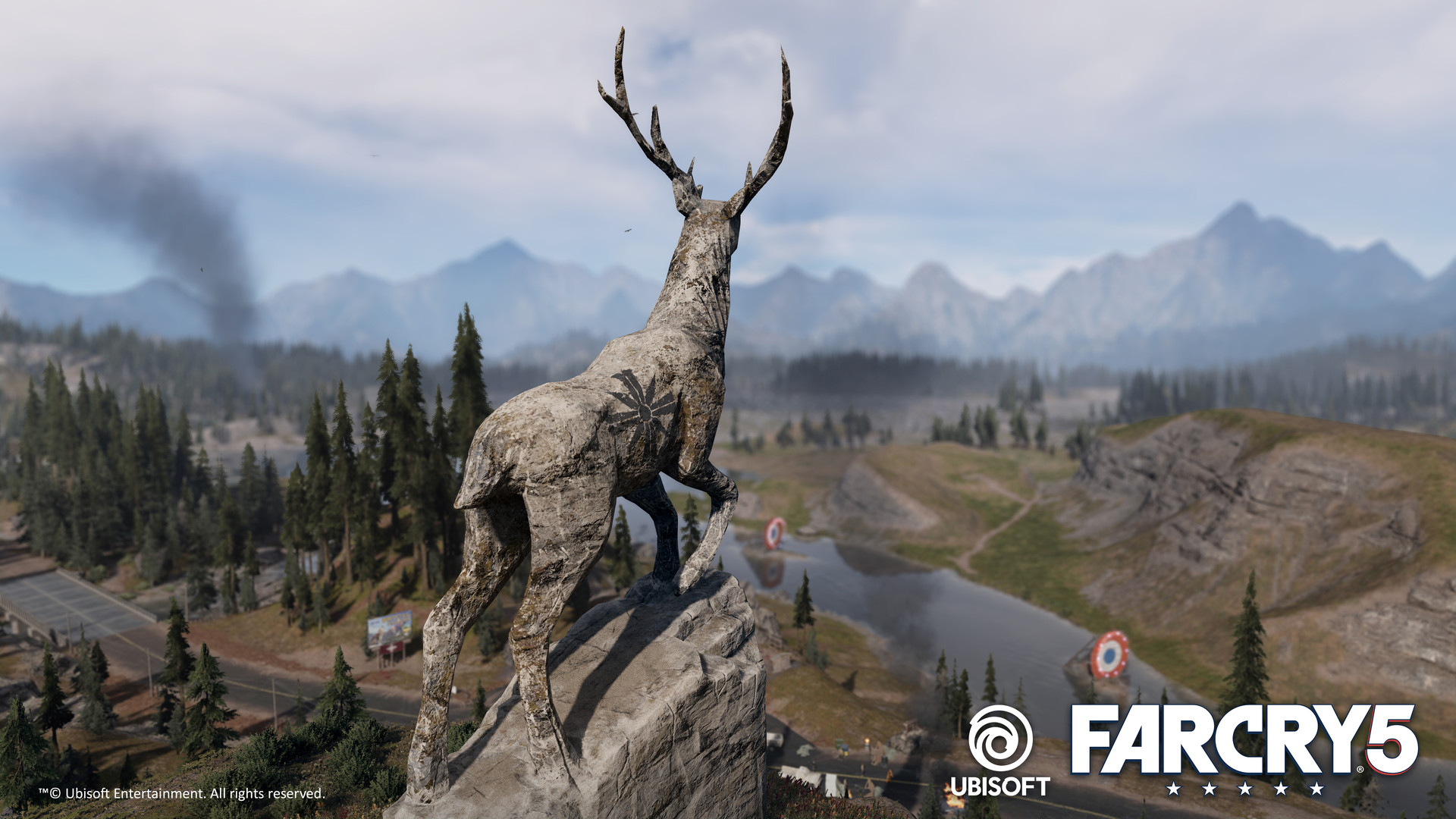 Artstation Elk Statue Carved Rock Statue I Made For Far Cry 5