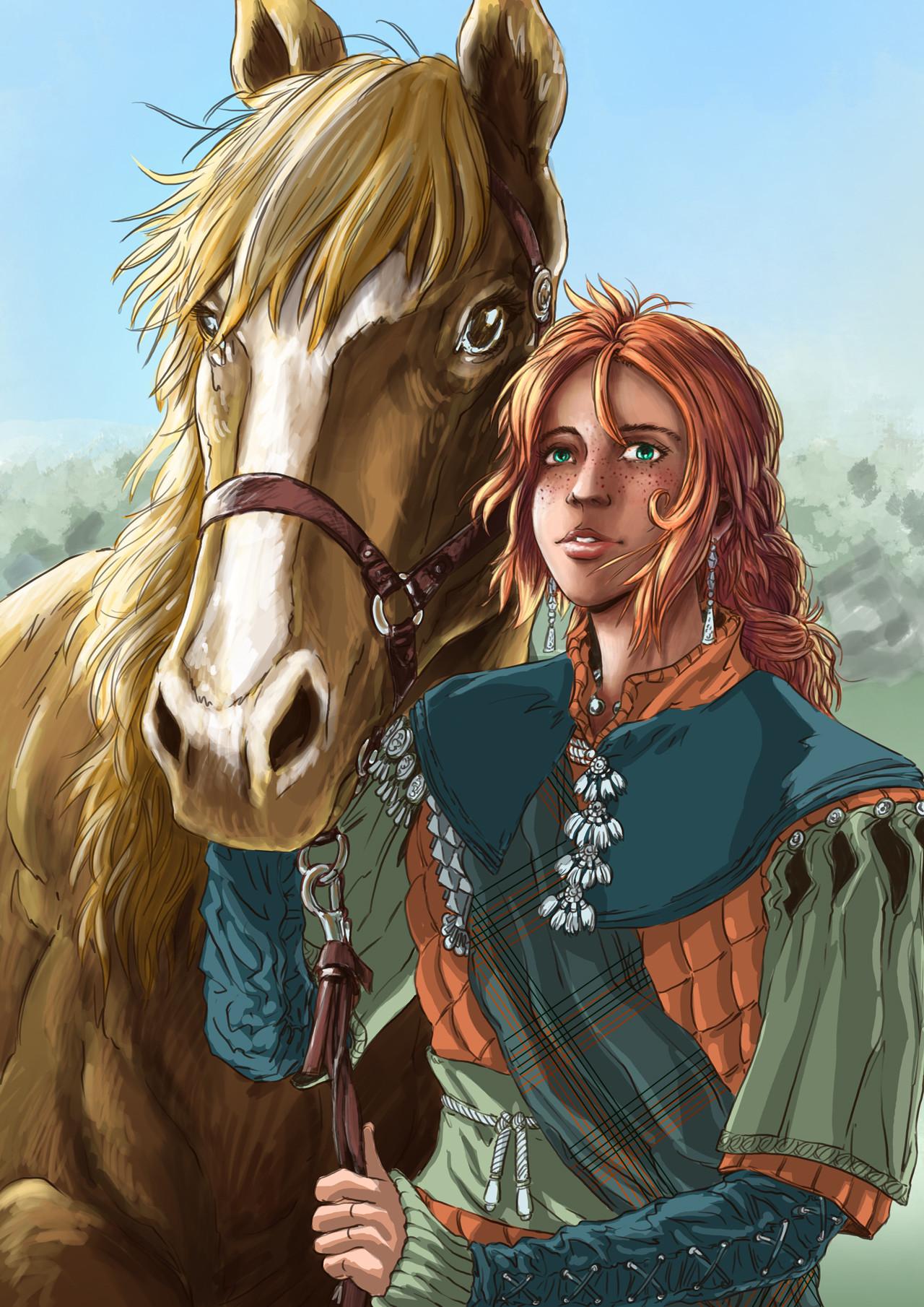 Axelle bouet lisa cheval7