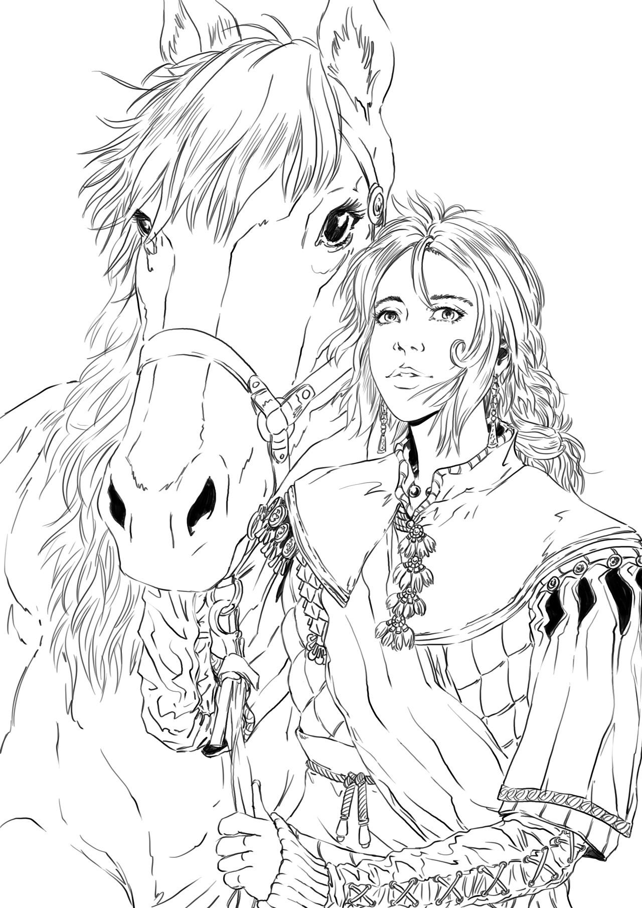 Axelle bouet lisa cheval3